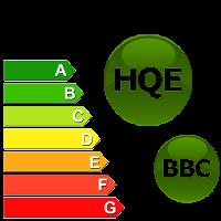 BBC HQE conception bâtiment basse consommation