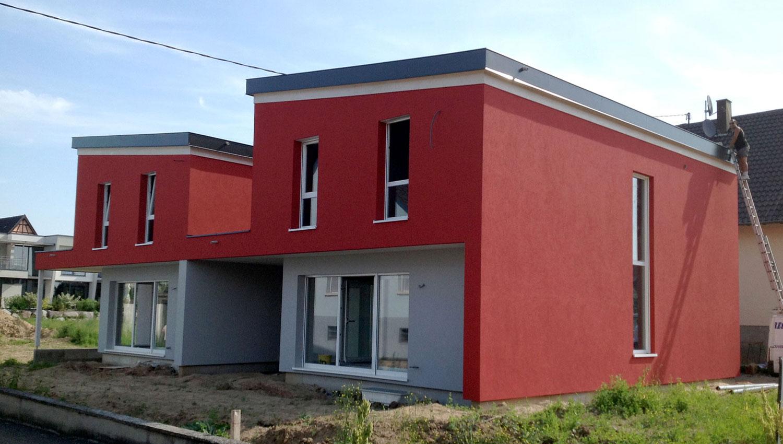 Projet maison passive bois Alsace