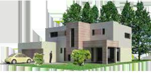 Architecture bioclimatique maison bioclimatique en Alsace
